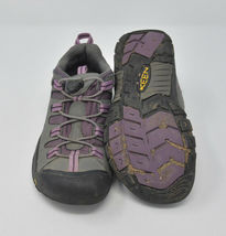 Keen Women's Sz 4 Gray Pink Bungee Strap Athletic Hiking Water Ready Trail Shoes image 5