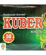 Kuber 1 Box (50 pouches @ 10 grams ea) Kuber Khaini USA SELLER FAST SHIP... - $28.00