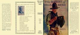 Edgar Rice Burroughs The Bandit Of HELL'S Bend Facsímil Cubierta 1º Gros... - $21.50