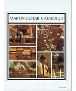 ORIGINAL Vintage 1970 Martin Guitar Catalogue Catalog - $49.49