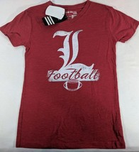 LZ Adidas Girl's Large 14 Louisville Cardinals Tee T-Shirt Shirt TShirt NEW P71 - $9.49