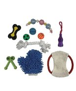 Penn Plax Dog Toys for Medium Dogs, TPR Chew Toys Dog Ropes Balls for Ag... - £30.09 GBP