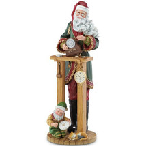 Lenox 2014 Santa Clock Shop Pencil Figurine Annual Countdown to Christma... - $140.00