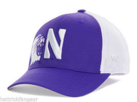 Northwestern University Wildcats Top of the World NCAA Trapped One Fit Cap Hat - $18.99