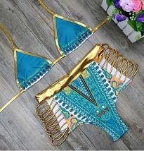 Womens Swimwear, African Print Bikini Set - $24.99