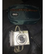 Canon PowerShot A520 4.0 MP 4.0x Optical Zoom Lens UGC Silver With Case - $16.83