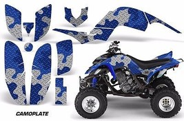 ATV Decal Graphic Kit Quad Sticker Wrap For Yamaha Raptor 660 2001-2005 ... - $168.25
