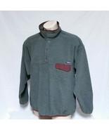 VTG Patagonia Synchilla T Snap Fleece Jacket Colorblock Ski Sweatshirt S... - $69.99