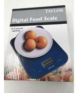 Taylor Slim Profile Digital Food Scale 6.6 Pound Capacity - $18.80