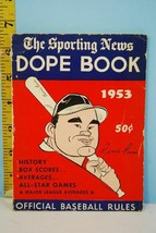 1953 The Sporting News The Dope Book Ferris Fain Cover VG - $9.99