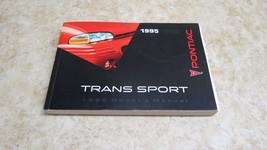 OEM FACTORY 1995 PONTIAC TRANS SPORT OWNERS MANUAL L-230 - $14.00