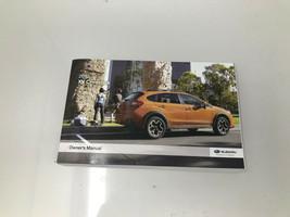 2015 Subaru XV Crosstrek Owners Manual Book Z0P03 - $38.39