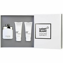 Mont Blanc Legend Spirit Edt Spray 3.3 Oz and Aftershave Balm 3.3 Oz and... - $61.00