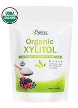 Organic Xylitol - USDA Certified Plant Based Sweetener, Low Glycemic Index, Keto
