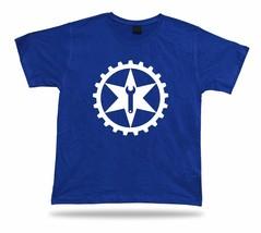 GEAR Metal tools punk T shirt vtg style comics wrench apparel six pointe... - €7,00 EUR