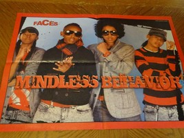 Mindless Behavior Willow Smith teen magazine poster clipping boyband Faces - $3.00