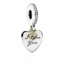 NEW Authentic PANDORA Valentine's Day Love You Forever Charm Pendant 792... - $19.62