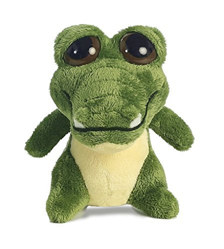 Aurora World Dreamy Eyes Plush Green Gator with Bubble Sound - 17104