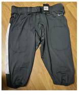Nike Team Vapor Pro Football Pants Men Size XL Gray White Compression 84... - $23.17