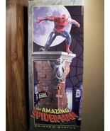 "RARE FULL SIZE ""AMAZING SPIDERMAN"" RANDY BOWEN SCULPTURE PAINTED STATUE ... - $227.70"
