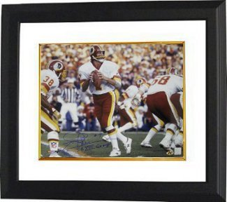 Primary image for Joe Theismann signed Washington Redskins 16x20 Photo SBXVII Champs Custom Framed