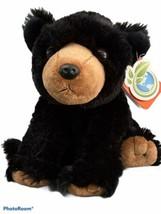 "Black Bear Plush 12"" Stuffed Animal SOFT by Wild RepublicNICE Soft - $11.09"