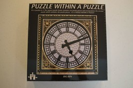 """FUNTIME 400 Piece Jigsaw Puzzle"""" BIG BEN"""" A Puzzle within a Puzzle 16"""" x 16"""" New - $12.86"""