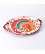 """Harvest """"Thankful"""" 18-in. Serving Platter (Orange) - $59.99"""