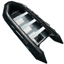 BRIS 15.4 ft Inflatable PVC Boat Inflatable Rescue Fishing Pontoon Boat Dinghy image 3