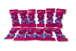 Mattel Inc. Barbie Lot of 12 Set of 2 Hard Plastic/Cloth Girl Barrette A... - $24.95