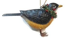 Home For ALL The Holidays Woodland Bird Ornament 3 inches (Robin) - $15.00