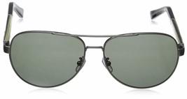 Ermenegildo Zegna Sunglasses EZ 0010 Silver gray 15N Size 62mm Frame New - $117.81