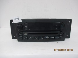 2004-08 Chrysler Pacifica CD Radio RAH   P05082764AF - $44.50