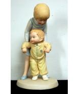 1980 Frances Hook 'Helping Hands' Porcelain Figurine - $1.97