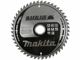 NEW Makita 216mm x 30mm x 48T Makblade Mitre Saw Blade  B-08969 - $43.46