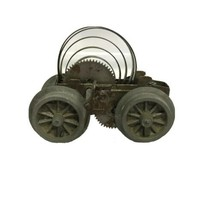 Vintage Metal Mini Wind up Car - $12.42