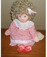 Vintage 1984 PAULETTE Piroette APPLAUSE Plush RAG DOLL-w TAGS~2145 - $27.00