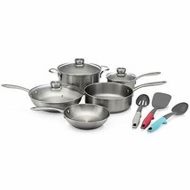 11FFSPAN03 Ready Cook Cookware, 11-Piece, Stainless Steel, 11 Pieces[11-... - $161.76+