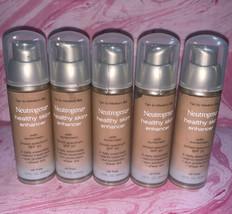 5 Neutrogena Healthy Skin Enhancer Sheer Tint Tan to Medium 50 Exp 5/18 - $23.06