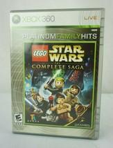 LEGO Star Wars: The Complete Saga (Microsoft Xbox 360, 2007) Complete - $19.95