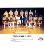 1974-75 LOS ANGELES LAKERS 8X10 TEAM PHOTO BASKETBALL PICTURE NBA LA - $3.95