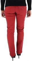 NEW LEVI'S WOMEN'S 505 PREMIUM CLASSIC STRAIGHT LEG JEANS RED 155050091 image 2