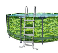 "Bestway Steel Pro MAX Round Metal Frame14' x 48 "" Above Ground Pool Set -InStock image 9"
