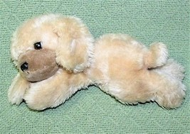 "Vintage 10"" Russ Berrie Puff Puff Puppy Dog Plush Stuffed Laying Animal Luv Pet - $32.73"