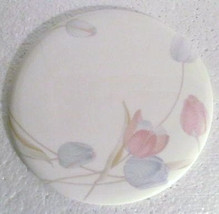 "MIKASA ""Swiss Garden"" Cheese & Cracker Plate Bone China Made In Japan - $29.99"