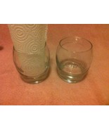(2)  CHIVAS REGAL WHISKEY TUMBLERS / GLASSES--ETCHED--ROUNDED--FREE SHIP... - $20.79