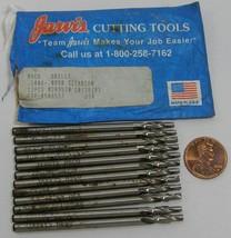 Jarvis Cutting Tools HSCO Drills .1406-.0980 Titanium   12 count   old s... - $19.99