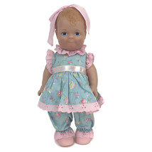 """Linda RIck The Doll Maker Lovey Dovey Baby Doll PInk A Dew 12"""" Vinyl - $23.33"""
