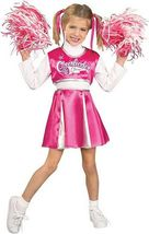 Precious Pink & White Cheerleader Champ Princess Costume w/Barbie Pom Poms - $35.27