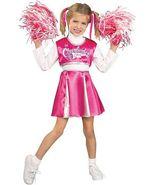 Precious Pink & White Cheerleader Champ Princess Costume w/Barbie Pom Poms - $35.27